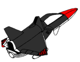 Coloring page Rocket ship painted byhhfhiytgghhfgjkyutf