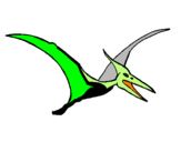 Coloring page Pterodactyl painted bytoblas