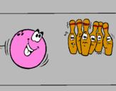 Coloring page Bowling ball painted bysavannah