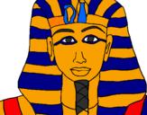 Coloring page Tutankamon painted bylukas.s.n