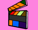 Coloring page Clapperboard painted bytwitty bird