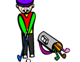 Coloring page Golf II painted bysimon
