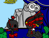 Coloring page Mic Quetz painted bymagnus 3.a