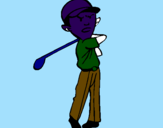 Coloring page Golf painted byahmad