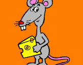 Coloring page Rat 2 painted byGabriel-alonso-sanchez