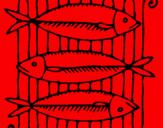 Coloring page Fish painted bydorfish