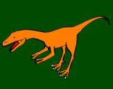 Coloring page Velociraptor II painted byViraj