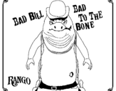 Coloring page Bad Bill painted byabc