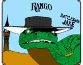 Coloring page Rattlesmar Jake painted byblas