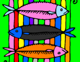 Coloring page Fish painted bygabriela