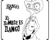 Coloring page Rango painted byabc