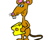 Coloring page Rat 2 painted bymouse-cheese2