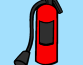 Coloring page Fire extinguisher painted byAna
