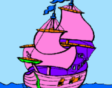 Coloring page Ship painted bydayane