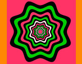 Coloring page Mandala 46 painted byMary