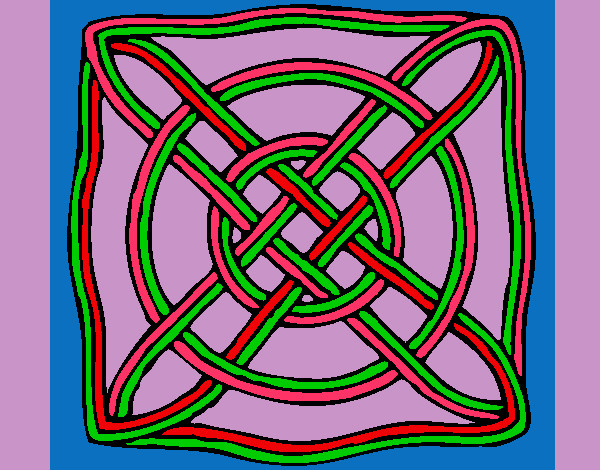 Coloring page Mandala 40 painted byTarheels22