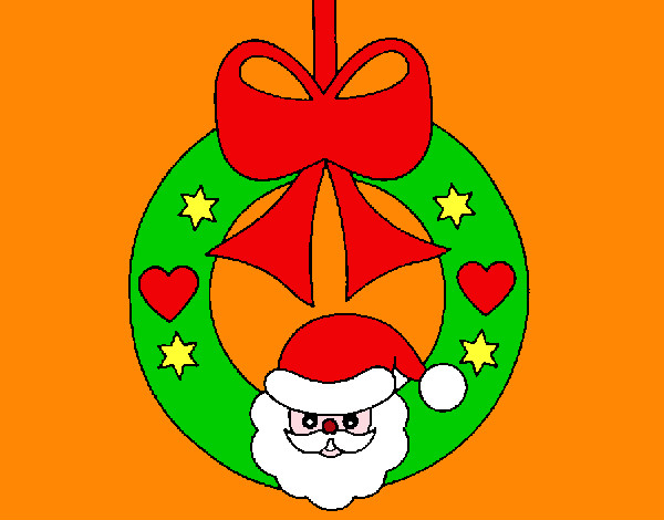 Coloring page Christmas decoration painted byxavi4