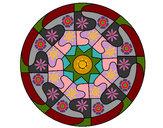 Coloring page Mandala 31 painted bySafera