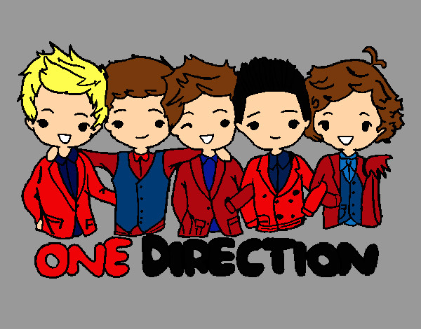 chibi one direction coloring pages - photo#13
