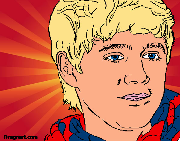 Colored Page Niall Horan Painted By Jojo