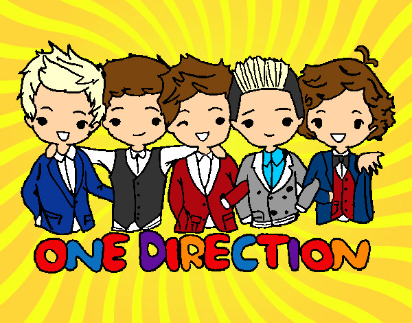 One Direction Colored By Isabella On November 21 2012