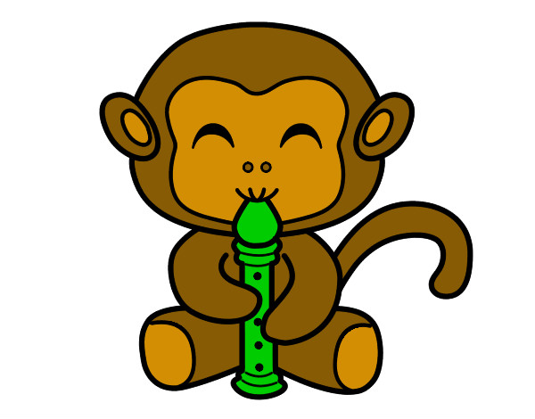 flautist-monkey-music-painted-by-clutsykels-79954