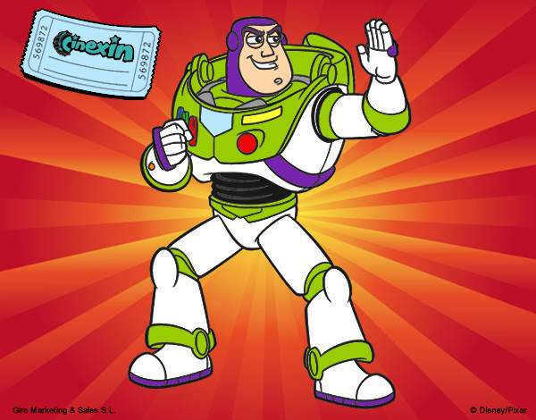 Coloring page Buzz Lightyear painted byArtIsLif3