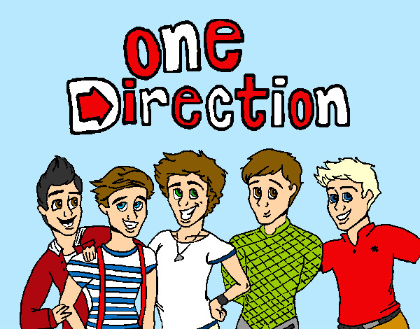 Coloring page One Direction 3 painted byArtIsLif3