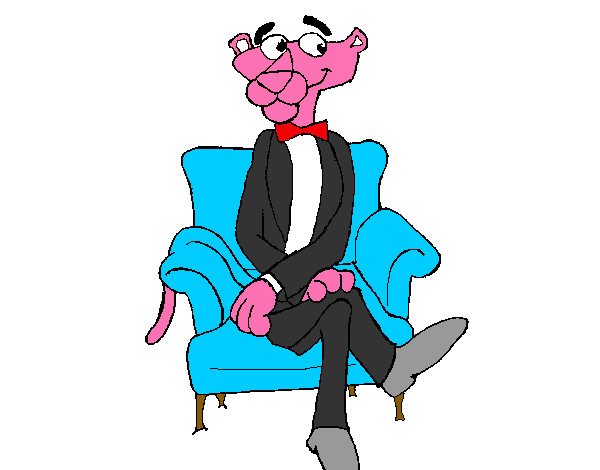 Coloring page The Pink Panther painted byArtIsLif3