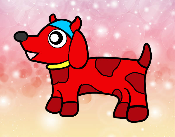 Coloring page Dog-cow painted byBlossom