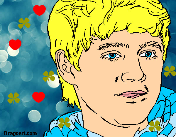 Coloring page Naill Horan 2 painted byBlossom