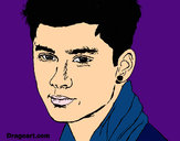Coloring page Zayn Malik 2 painted byAnny1D