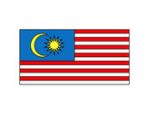 Coloring page Malaysia painted byjohn