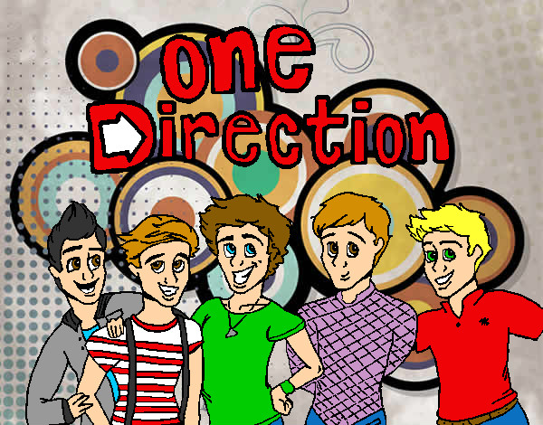 Coloring page One Direction 3 painted bySarah52130