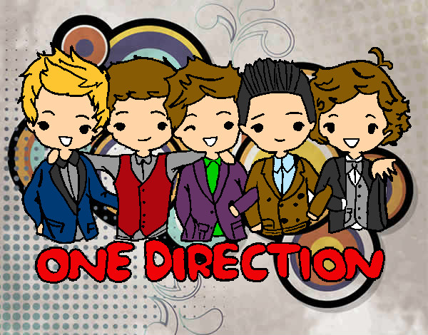 Coloring page One direction painted bySarah52130