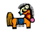 Coloring page Horse Sign painted byangel2425