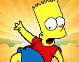 Coloring page Bart 2 painted byjenny