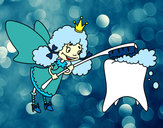 Coloring page Tooth Fairy painted byAlyssa_29