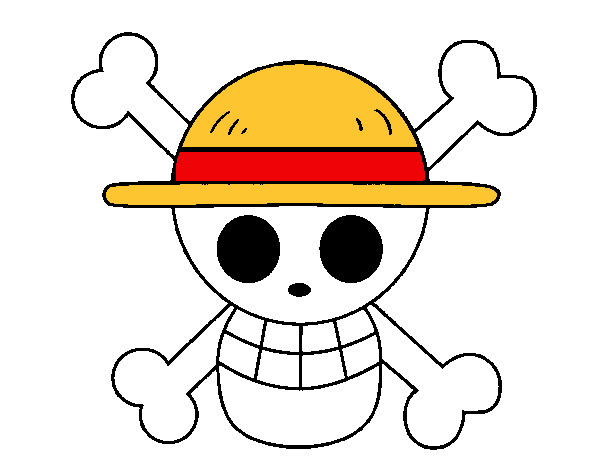 Colored Page Straw Hat Flag Painted By Filinguim