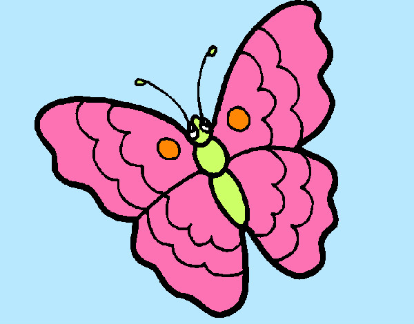 Coloring page Butterfly 13 painted byems76