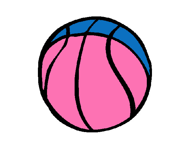 Coloring page Basketball hoop painted byCarmen