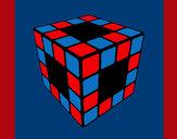Coloring page Rubik's Cube painted byburbulitis