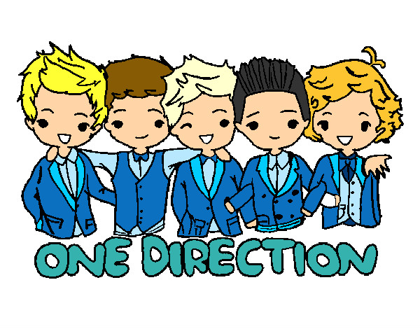 Coloring page One direction painted byBigricxi