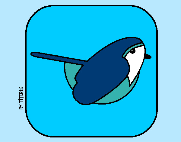 Coloring page Bird II painted byBigricxi
