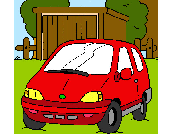 Coloring page Car in the country painted byBigricxi