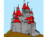Coloring page Medieval castle painted byBigricxi