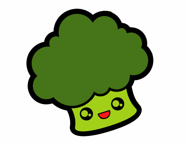 Smiling broccoli