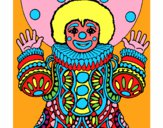 Coloring page Clown dressed up painted byJubblyRuss