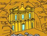 Petra's Treasury from Al Khazneh