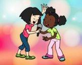 Coloring page Karaoke painted bybarbie_kil